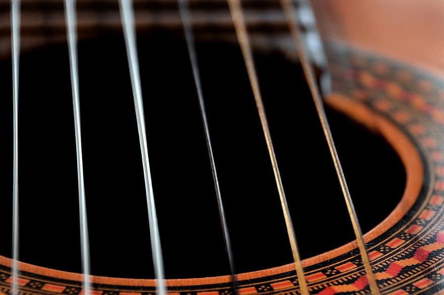 cuerdas-de-guitarra-clásica