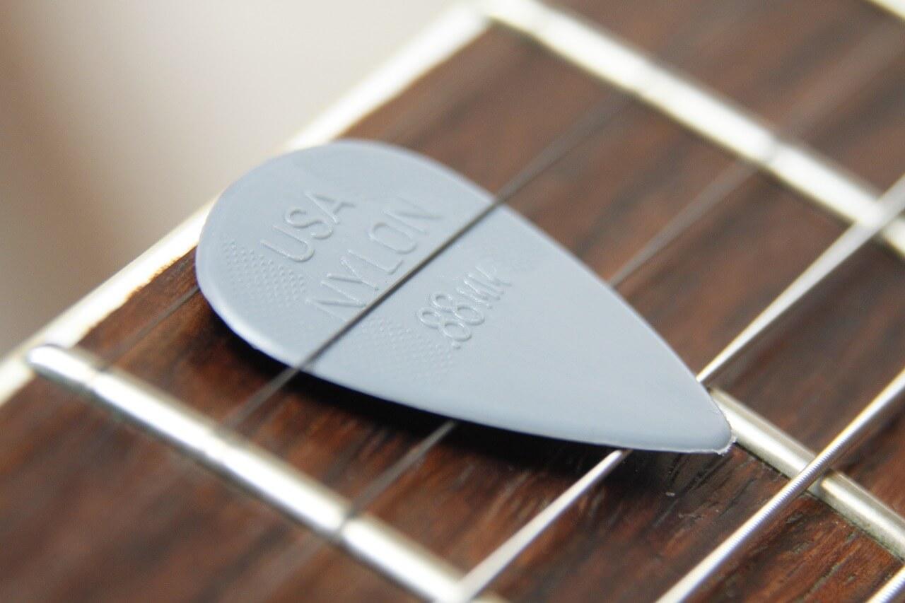 púa-de-guitarra