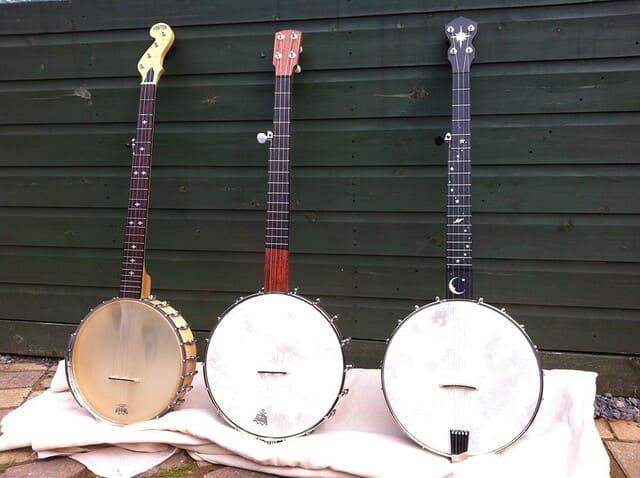 Banjo-instrumento-de-cuerda-punteada