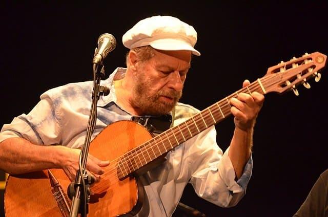 Guitarra-contrabajo-instrumento-de-cuerda-punteada