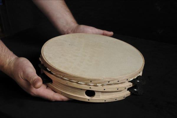 Pandereta-Instrumentos-membranofonos