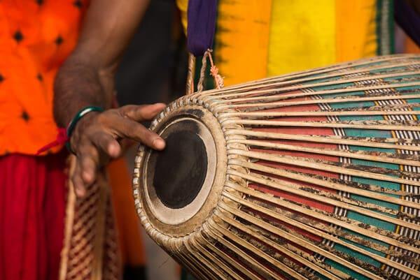 Mridangam-instrumento-de-percusion